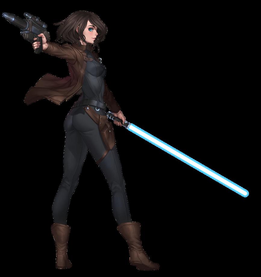 Rena Javess, Anti-Sith Chapter Jedi Knight by Shoguneagle