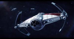 Republic Sienar Systems Republic T.I.E. by Shoguneagle