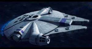 The Millennium Falcon (Father and Sun of the Sons) by Shoguneagle