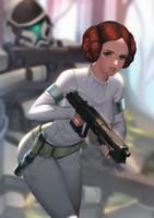 Leia Skywalker, Senatorial Aide/Jedi Padawan by Shoguneagle