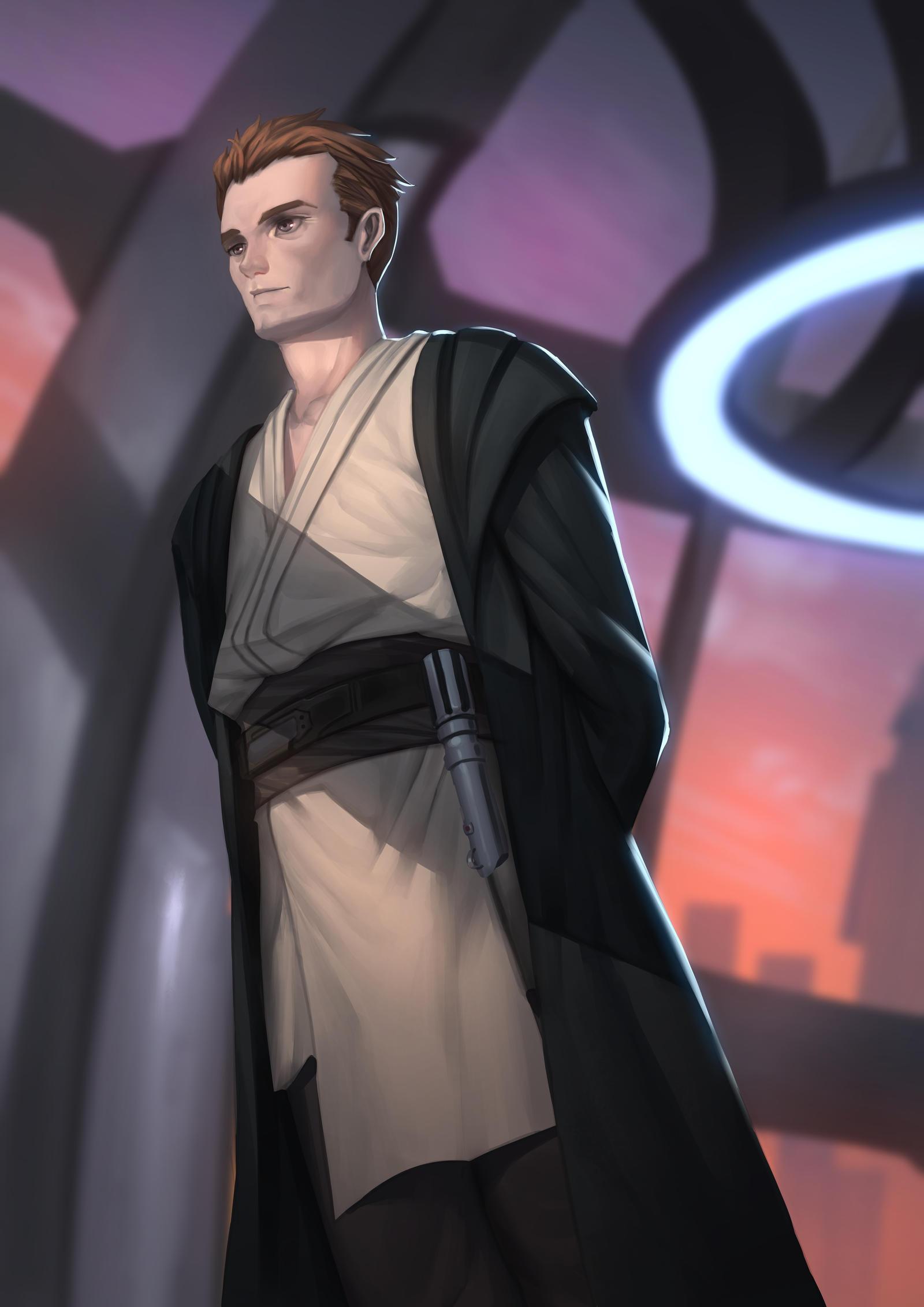 Master Anakin Skywalker by Shoguneagle