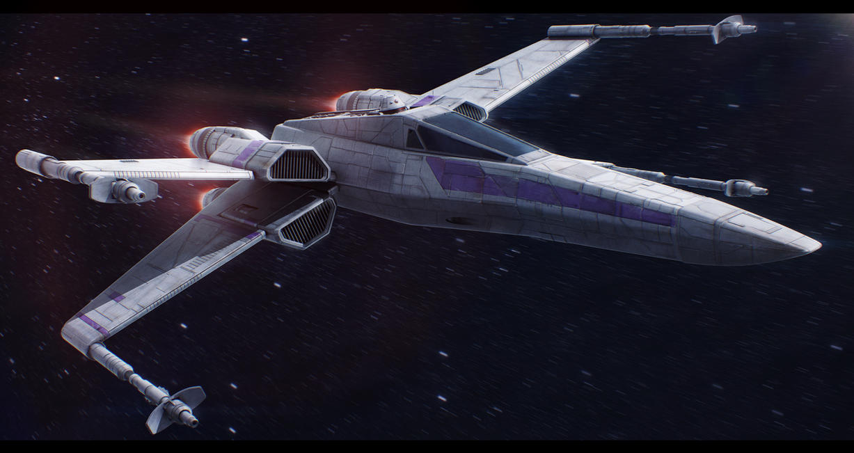 Incom Frei-Tek T-65C X-Wing Plus by Shoguneagle