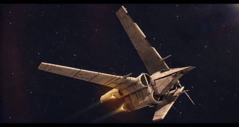 Tracker-V1 Gunship