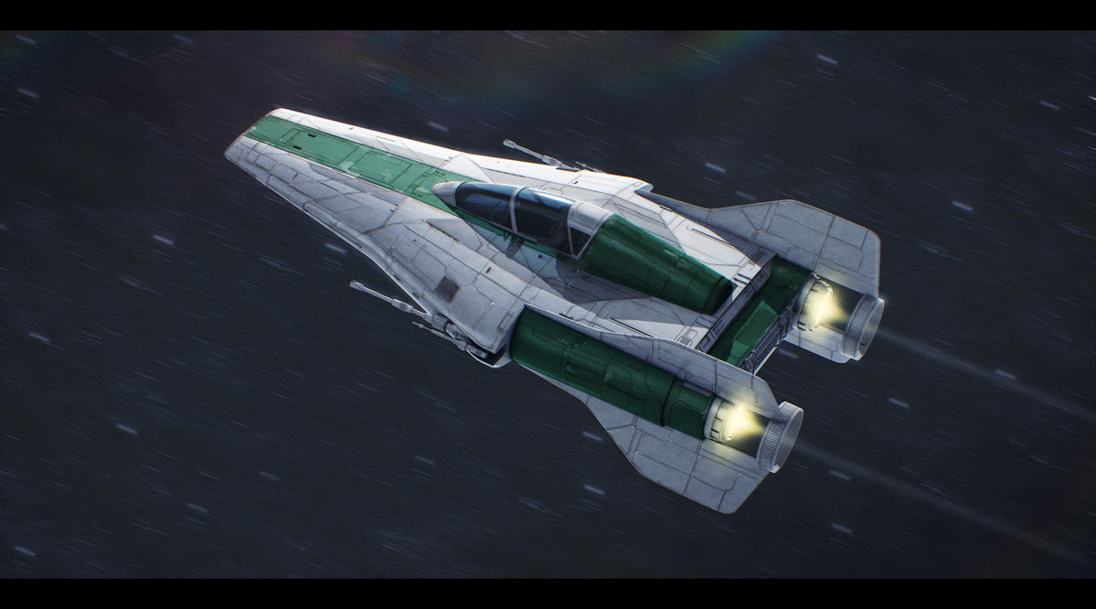 Alliance Engineering RZ-1+ A-Wing Plus by Shoguneagle