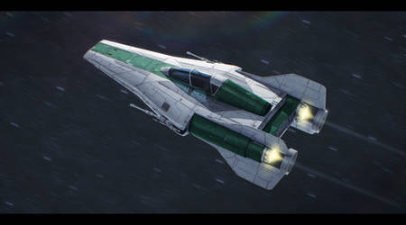 Alliance Engineering RZ-1+ A-Wing Plus