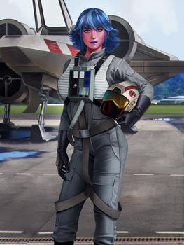 Lieutenant Zella Rerre, Lancer Squadron pilot