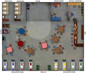 Bosco's floorplan alternate by Shoguneagle