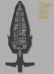 Hoersch-Kessel Drive Inc. Peekaboo scout deckplans by Shoguneagle