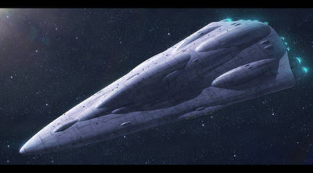 Mon Calamari Shipyards MC90 star cruiser by Shoguneagle
