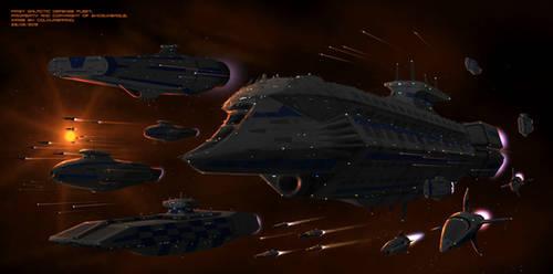 First Galactic Defense Fleet