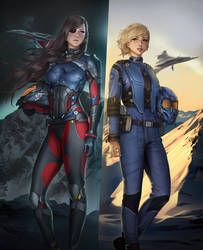 Rival Aces by Shoguneagle