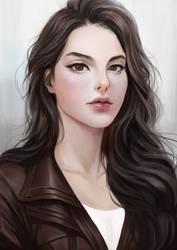 Lieutenant Ansa Swiftdancer, Azure Three by Shoguneagle
