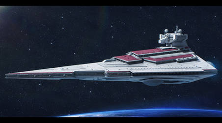 Rendili StarDrive Victory I-class star destroyer