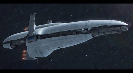Free Dac Volunteers Reckoning-class star cruiser