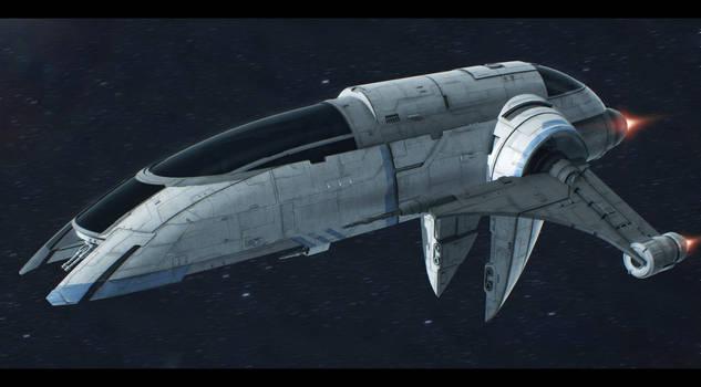 MandalMotors Besh-3 Assault Ship