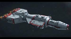 CEC DP40 Heavy Gunship