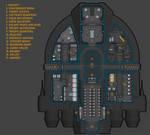 Duro Astronautical Works 2T5T deckplan