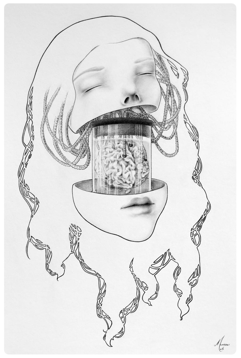 Brain in a vat by muneen