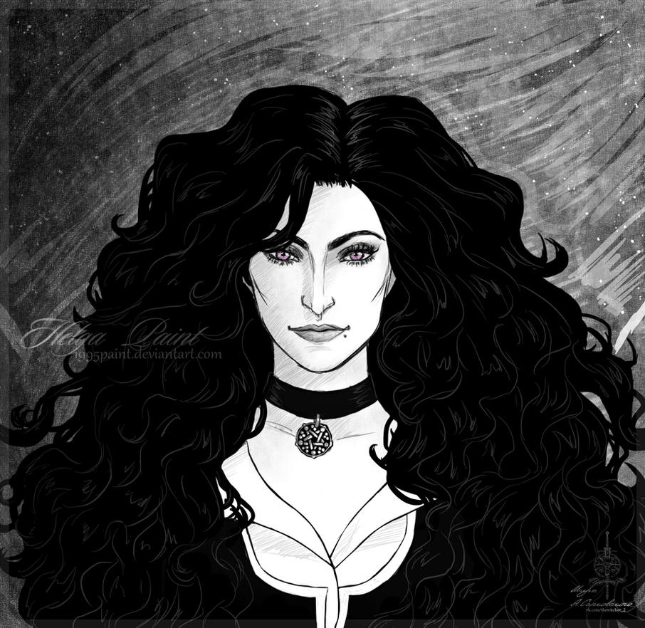 Yennefer by 1995Paint
