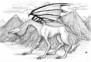 Mountain dragon by Anathema7