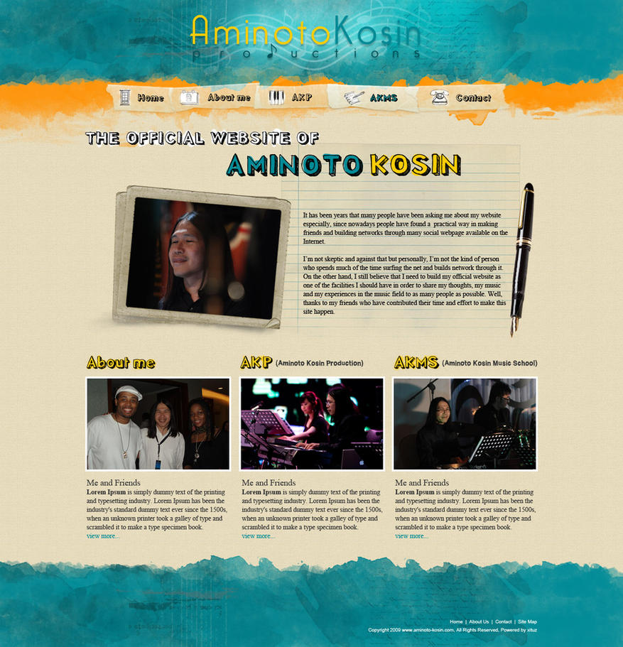 Aminoto Kosin Official Site by whatnameisit