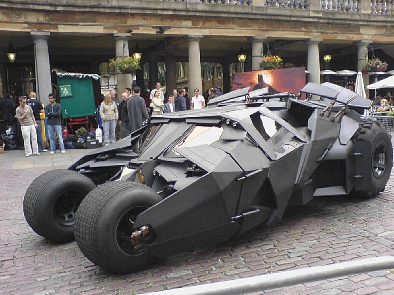 Batmobile by spacedoutkat