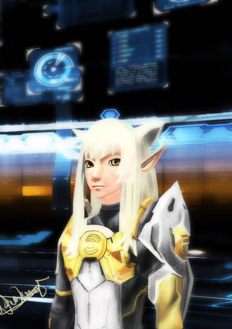 Phantasy Star Online 2: SaiYa by MultiLock