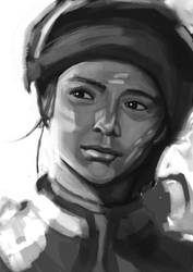 Oriental Portrait - Speed Paint by MultiLock