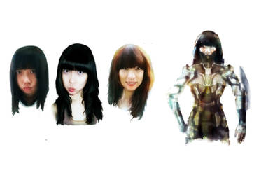 Oriental Portrait Practice by MultiLock
