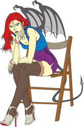 Nevaeh Colored