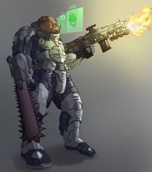 Butcher Shadowrun character