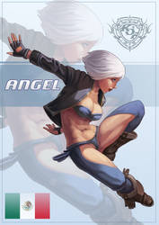 KoF Angel by Chacobo