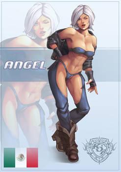 KoF Angel - Static pose