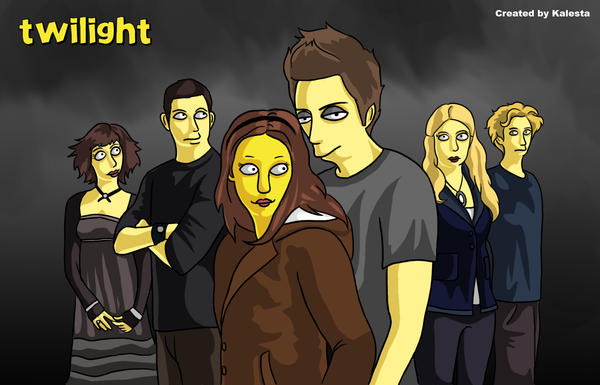 Twilight: The simpsons by AliceYung