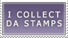 I collect Da Stamps by Kalesta