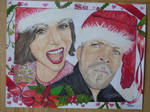 OutlawQueen Christmas by SirkaDelgato