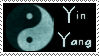 Yin Yang Stamp by Brinatello