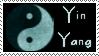 Yin Yang Stamp by Brinatello