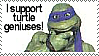 Turtle Genius Stamp by Brinatello