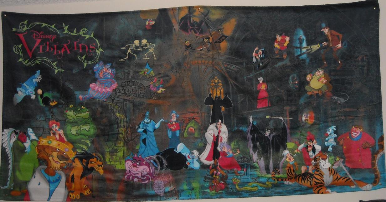 Disney Villains Towel By Brinatello On Deviantart