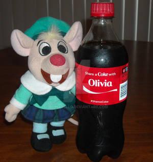 Share a Coke with Olivia