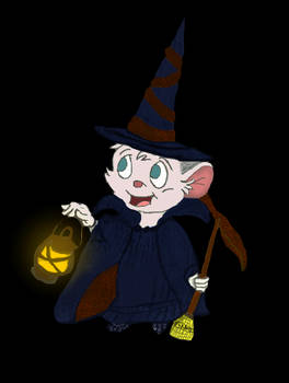 Cynthia, the Toddler Witch