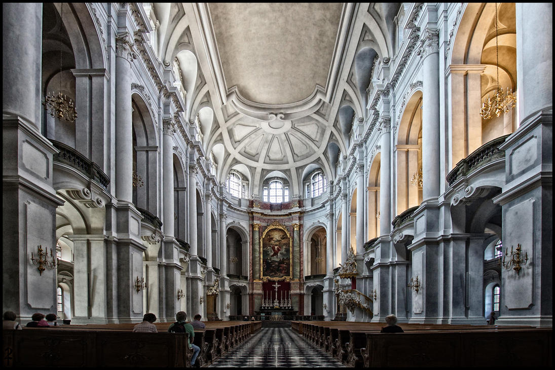 Dresden, Hofkirche by todehauff