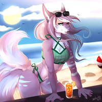 [C] Beach Babe by My-Loveless