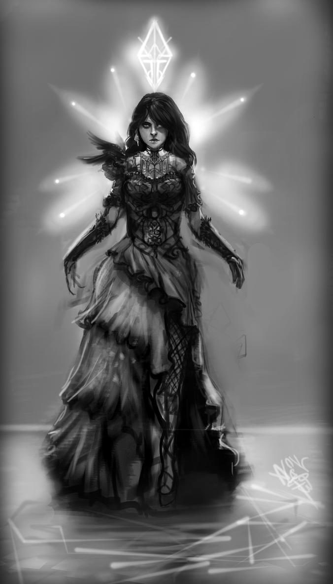 Cold Siren Dress Concept by Azjo