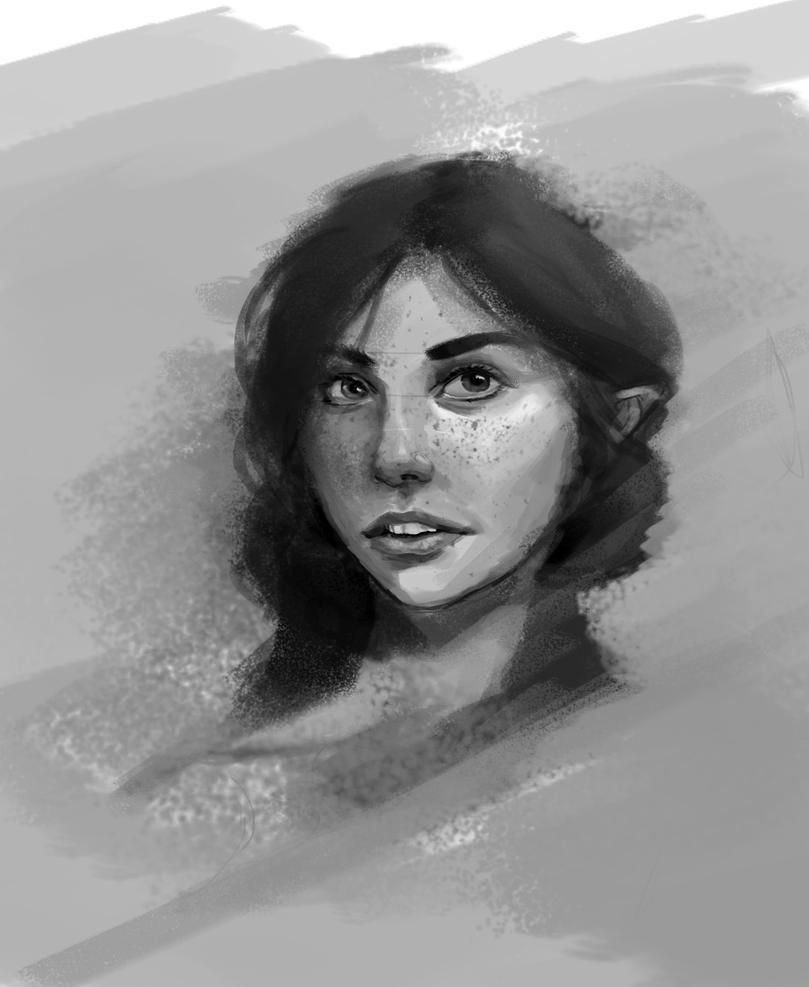 Portrait ^^! by Azjo