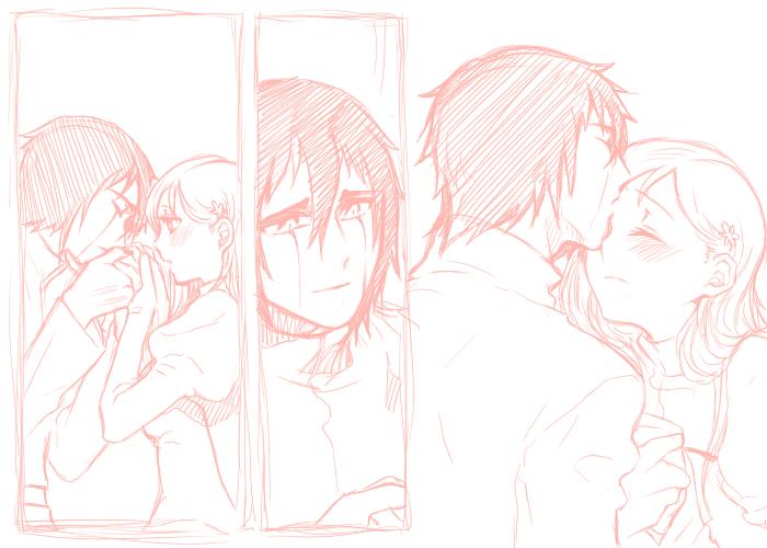 kiss by bu-nong