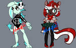 (CLOSED) Halloween VS Christmas Adopts
