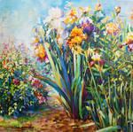 Nature art oil painting by Leon Devenice