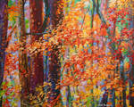 Forest of the heart Oil painting by Leon Devenice